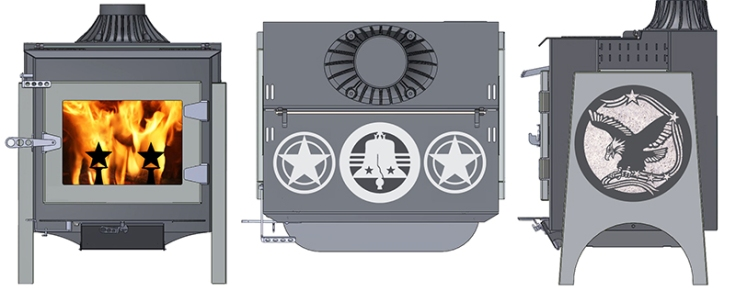 Our Ideal Steel Stove Design