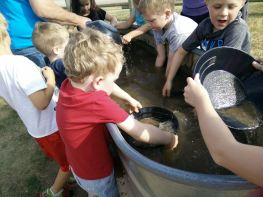 Panning for Gold at the Circle B