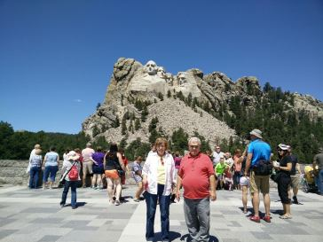 Mom and Dad at Mount Rushmore