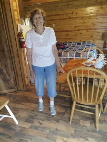 Mom in the Cabin