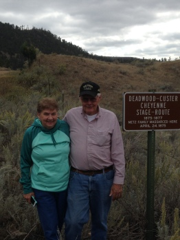 Red Canyon site of Metz Massacre