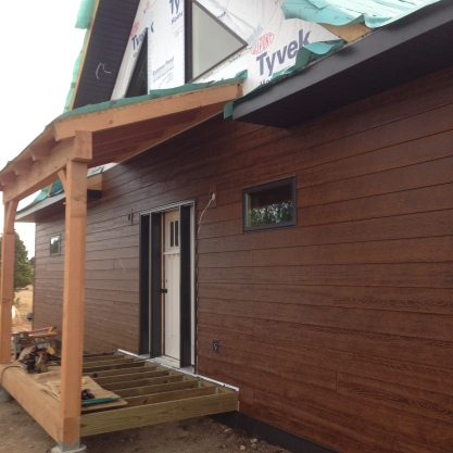 Front Porch and Siding