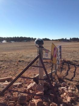 Flight Helmet at Cattle Gate