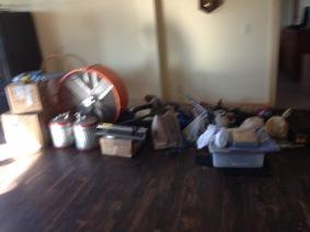 Stuff in basement