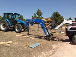 Picking up the loader again