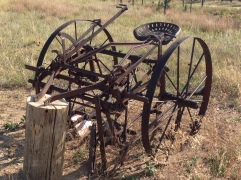 An Old Corn Seeder from the Junkyard