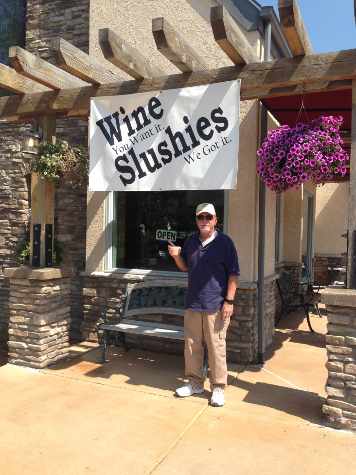 Mmmmmm.....wine slushies!