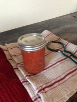 First can of salsa