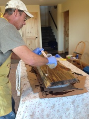 Adding epoxy